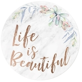Oliver Gal Life Is Beautiful Floral (Acrylic)