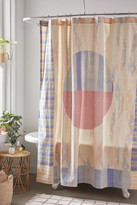 Urban Outfitters Dominique Printed Shower Curtain