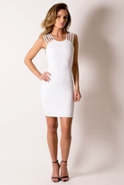 Donna Mizani Ultra Soft Multi Strap Dress in Frost
