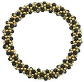 Meredith Frederick 14k Gold and Black Onyx Bead Bracelet