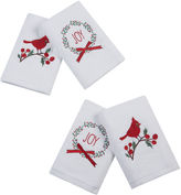 Asstd National Brand Jingling Joy 4-pc Embroidered Hand Towel Set