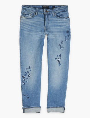 Lucky Brand Sweet Crop W/ Embroidery