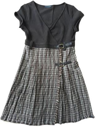 Ikks Brown Wool Dress for Women