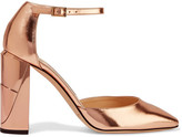 Jimmy Choo Mabel Mirrored-leather Pumps - Pink