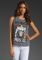 Lauren Moshi Effie Color Venice Muscle Tank