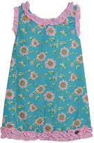 Dolce Petit Teal Sunflower Dress