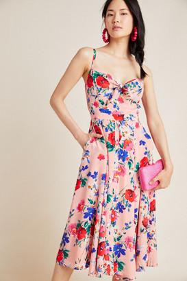 Yumi Kim Julia Silk Midi Dress
