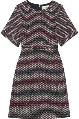 Gucci Sequin tweed dress
