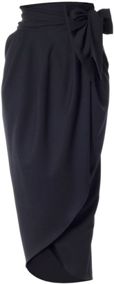 Meem Label Blake Black Tulip Skirt