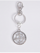 M&S Collection Charm Flower Keyring