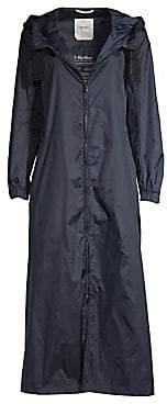 Max Mara Women's Long Hooded Raincoat