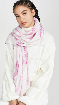 White + Warren Mini Tie Dye Cashmere Travel Wrap