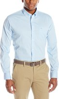 Dockers Comfort Stretch Long Sleeve Solid Button Down Shirt