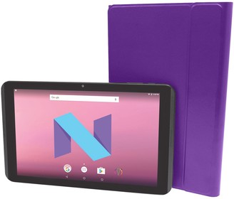 """Visual Land Prestige Elite 10.1"""" HD 16GB Android 2-in-1 Tablet with Docking Keyboard & Case"""