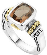 Lagos Caviar Color 10mm Onyx Ring, Size 7