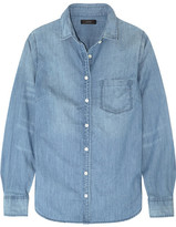 J.Crew Always Cotton-chambray Shirt - Light denim