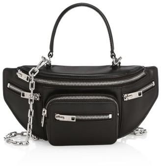 Alexander Wang Mini Attica Top Handle Leather Belt Bag
