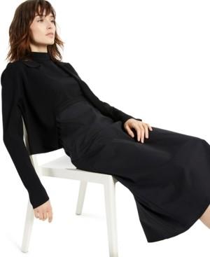 Alfani Cropped Collared Bolero Cardigan Sweater, Created for Macy's