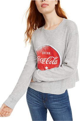 Love Tribe Juniors' Coca-Cola Graphic-Print Thermal Top