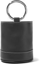 Simon Miller Bonsai Mini Leather Tote - Black