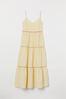 H&M V-neck cotton dress