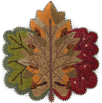 Mackenzie Childs MacKenzie-Childs Autumn Leaves Placemat