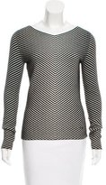 Akris Striped Wool Top