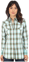 Roper 0192 Baseball Ombre Plaid