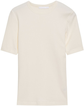 Helmut Lang Ribbed Cotton Top