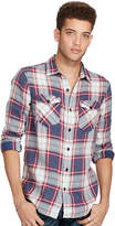 Ralph Lauren Plaid Linen-cotton Workshirt