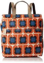 Orla Kiely Womens Love Birds Print Backpack Shoulder Handbag,11 x 35 x 25.6 cm (W x H x L)
