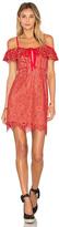 For Love & Lemons Rosemary Mini Dress