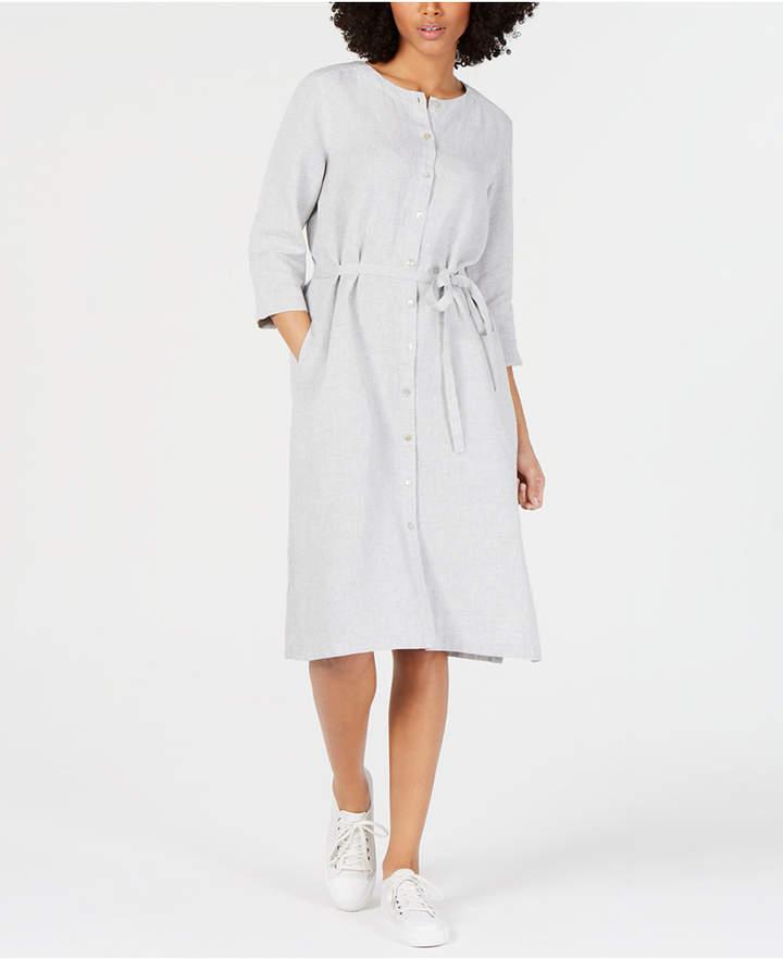 340a03bdb101 Eileen Fisher Linen Dresses - ShopStyle