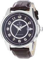 Bulova Men's 96B128 Precisionist Claremont Leather Watch