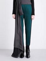 A.F.Vandevorst Stirrup tapered stretch-jersey trousers