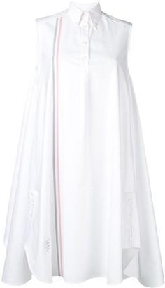 Thom Browne Oxford Oversized Circle Shirtdress