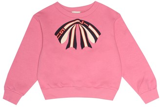 Gucci Kids Appliqued cotton sweatshirt