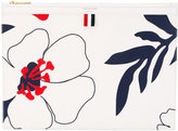 Thom Browne floral print clutch - men - Leather - One Size