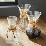 Crate & Barrel Chemex Coffee Makers with Wood Collar