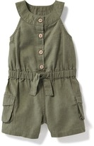 Old Navy Sleeveless Utility Romper for Baby