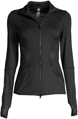 adidas by Stella McCartney Esssential Mesh Workout Jacket
