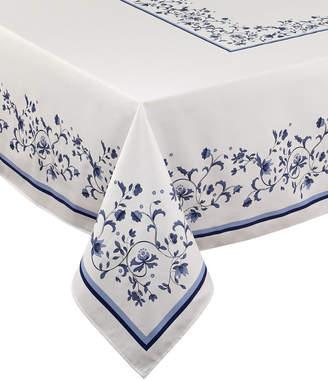 """Portmeirion Blue Portofino 60"""" x 102"""" Tablecloth"""