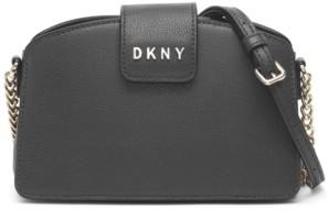 DKNY Clara Leather Chain Crossbody Bag