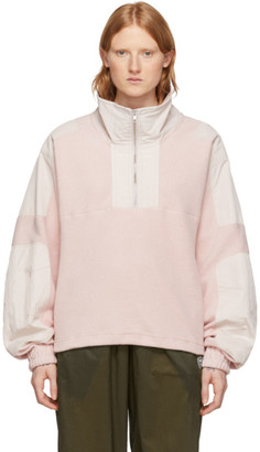 GmbH Pink Fleece Mathise Pullover
