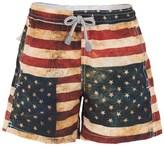 MC2 St Barth Vintage US Flag Swim Shorts