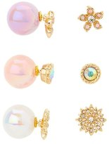Charlotte Russe Double-Sided Stud Earrings
