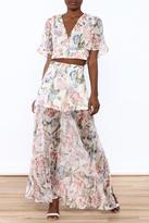 Lulumari Floral Maxi Skirt Set