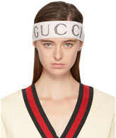 Gucci Off-White Logo Headband