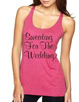 Allntrends Women's Tank Top Sweating For The Wedding Cool Fitness Top (XL, )