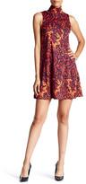 Julie Brown Maxie Turtleneck Swing Dress